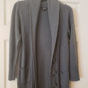 Chunky button front cardigan